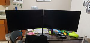 """Acer 27"""" monitors with mount for Sale in Manteca, CA"""