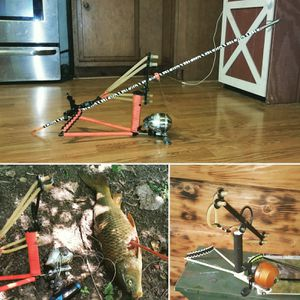 Custom made fishing slingshot for Sale in Columbus, OH