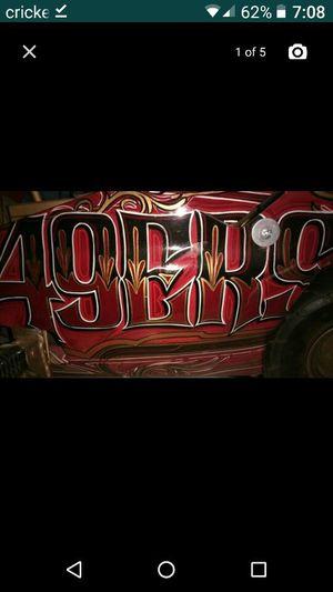 *~ 49ers Pocket Rocket Bike *~ Brushed/Engraved for Sale in Fresno, CA