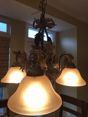 Oil rubbed bronze chandelier for Sale in Ashburn, VA