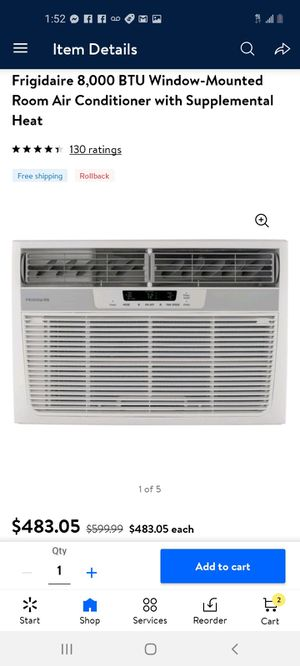 New ac conditioner with heat for Sale in Delano, CA