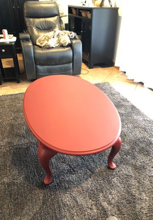 Beautiful red coffee table for Sale in Fresno, CA