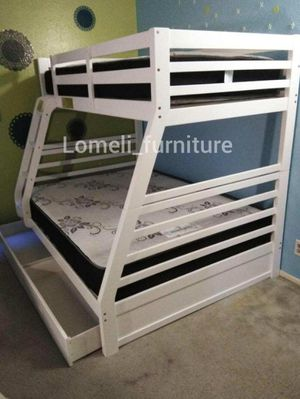 Twin/full bunk beds with mattress included for Sale in Cypress, CA