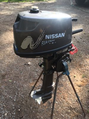 NISSAN 4 HP OUTBOARD MOTOR for Sale in Stanwood, WA
