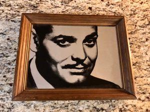 Vintage Clark Gable Mirror for Sale in Glendale, AZ