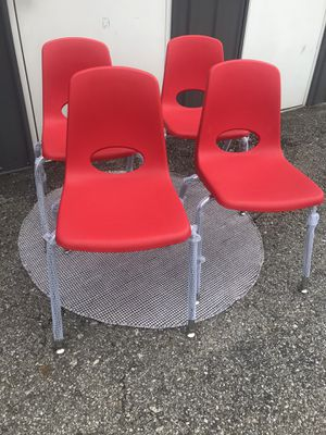 New set of 4 kids school chairs for Sale in Upper Arlington, OH