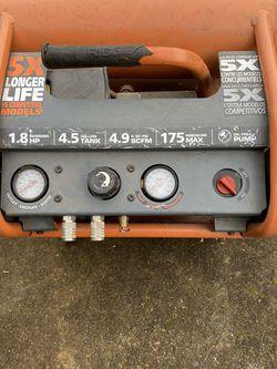 Ridgid 4.5 Gallon Air Compressor for Sale in Vancouver,  WA