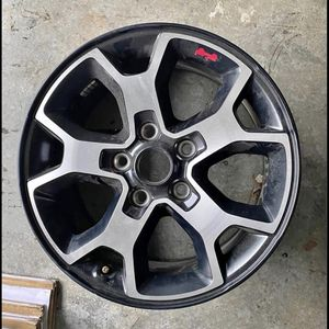 "Keep Wrangler Rubicon 17"" Wheels For Sell for Sale in Glendale, CA"