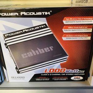 Power Acoustik 1,000 Bass Amplifier for Sale in San Bernardino, CA