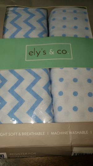 Elyse & Co pack and play portable crib sheet for Sale in Norwich, NY