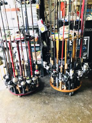 Fishing rods with reels $25-50 Each (Read Description) for Sale in Glendale Heights, IL