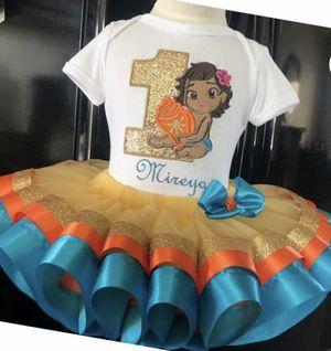 Moana Custom Tutu Set for Sale in San Antonio, TX