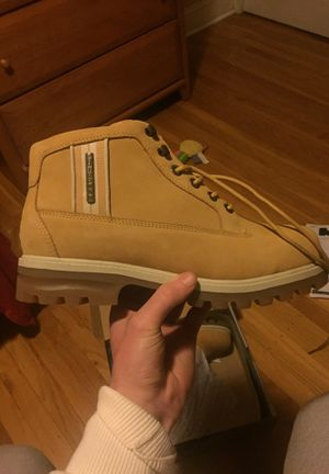 Lugz Steel Toe boots, Never worn. Mint condition for Sale in Philadelphia, PA