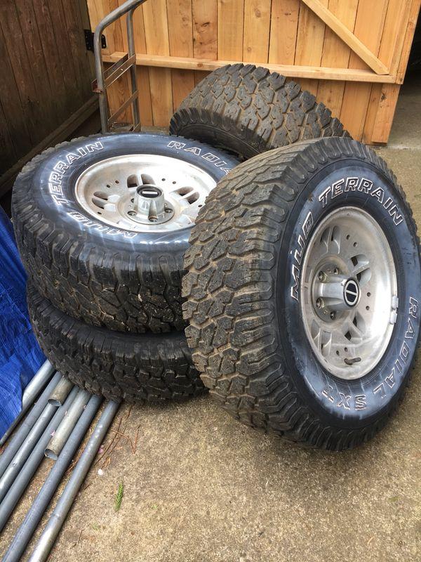 Ford Ranger Tires/Rims set