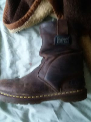 Work boots dr martens industrial slip on boots for Sale in Hamilton, OH