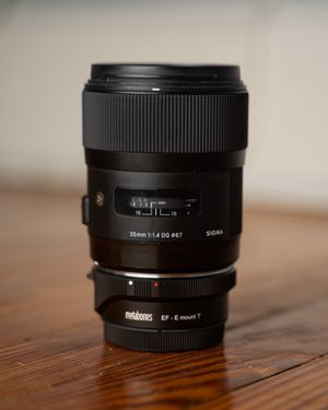 Sigma 35mm 1.4 ART EF-mount for Sale in Kings Park, NY