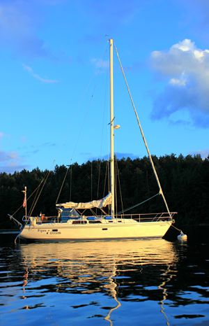 Catalina 36 sailboat 1993 yacht for Sale in Seattle, WA