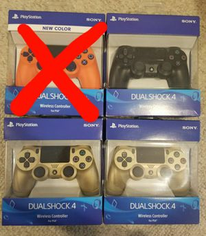 PS4 Dualshock 4 Controllers Gold, Black BRAND NEW Playstation DS4 for Sale in Denver, CO
