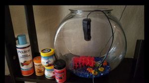 Like new beta fish tank kit for Sale in San Diego, CA