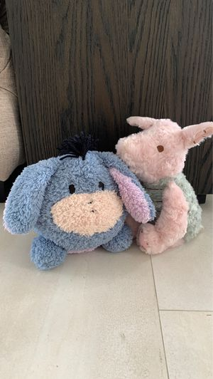 Classic Pooh Eeyore and Piglet for Sale in Miami, FL