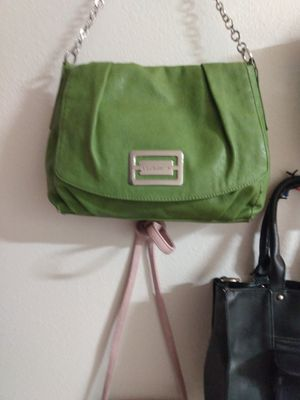 Green brand name purse like new {contact info removed} for Sale in Florissant, MO