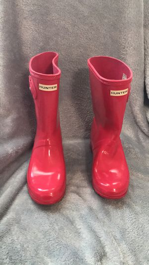 Hunter rain boots- short for Sale in Metairie, LA