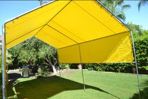 New galvanize steel canopy TENT 12x30 heavy duty Frame and tarp included More size available starting price $195 for Sale in Tampa, FL