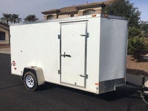 Wells Cargo enclosed 6 x 12 V-nose utility trailer for Sale in Chandler, AZ