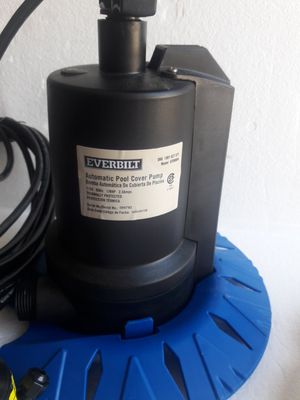 Everbilt Automatic Pool Cover Pump for Sale in Strongsville, OH