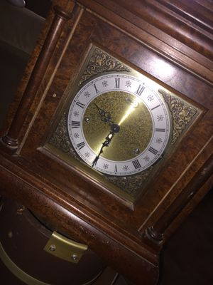 Antique ridgeway mantle clock with Franz Hermle time piece for Sale in Dallas, TX