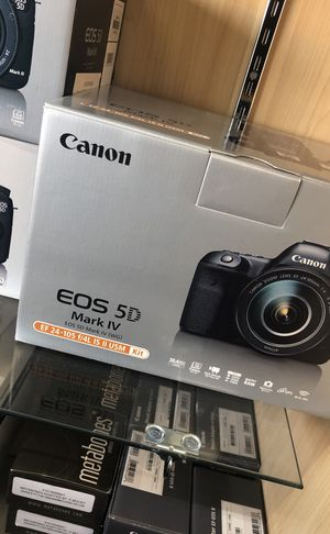 Canon 5D mark iv for Sale in Los Angeles, CA