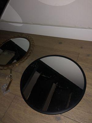 Black circle mirror for Sale in San Diego, CA