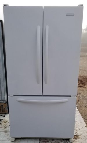 Elegant KitchenAid 3-door refrigerator with pull out freezer for Sale in Lakeside, CA
