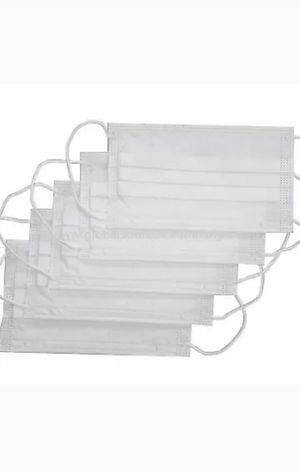 Surgical disposable ear loop face mask with nose bar. 50 PCS open box for Sale in Arcadia, CA