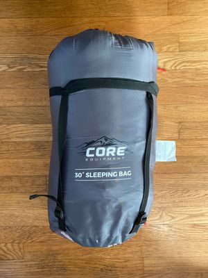 Core Equipment 30 degree sleeping bag for Sale in Portland, OR