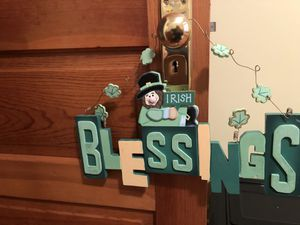 St Patty's day wood decor for Sale in Lansing, MI