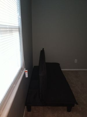 Futon bed that folds out into couch for Sale in Columbus, OH