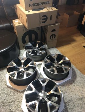 "Jeep Cherokee Trailhawk OEM 17"" Rims Brand New In Boxes for Sale in Braintree, MA"
