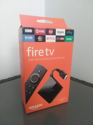 Amazon Fire TV 4k $40 FIRM for Sale in Chula Vista, CA