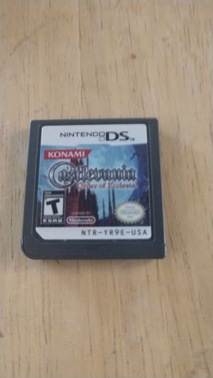 Nintendo DS Game Castlevania Order of Ecclesia for Sale in Vancouver, WA