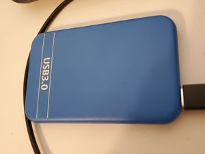320GB External HDD (298GB Formatted) USB 3.0 for Sale in Los Angeles, CA