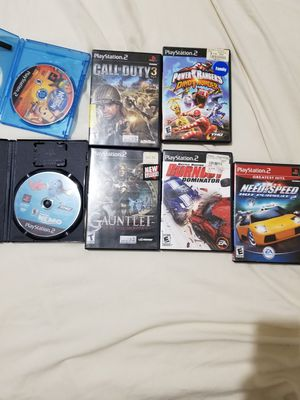 Playstation 2 ps2 games for Sale in Taunton, MA
