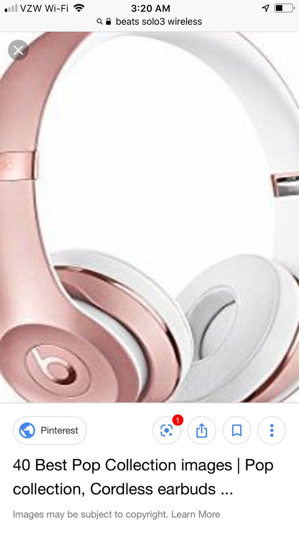 Rose Limited Edition Rose Gold newest Beats wireless headphones