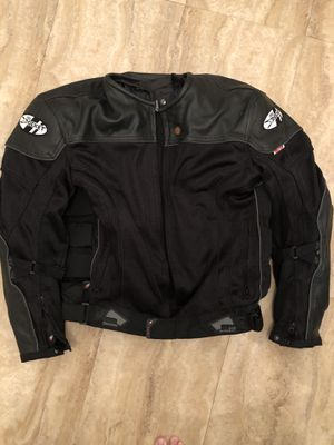 Joe Rocket protective motorcycle jacket - L for Sale in Cuyahoga Falls, OH