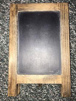 Standing Desktop Chalkboard/Corkboard for Sale in Ellensburg,  WA