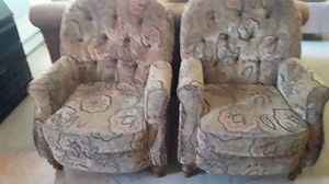 Two upholstered arm chairs for Sale in VT, US