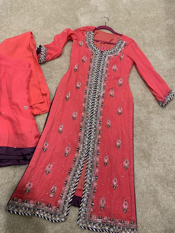 Pakistani Indian desi dress wedding wear clothes
