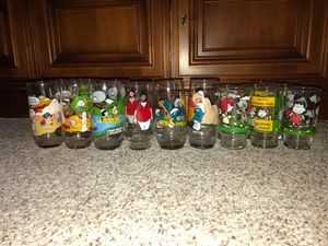Vintage 1980s McDonalds Peanuts Collectible Glasses for Sale in Parma Heights, OH