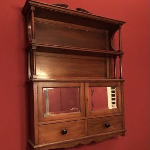 Beautiful Wall Shelf w/ Drawers for Sale in Forney, TX
