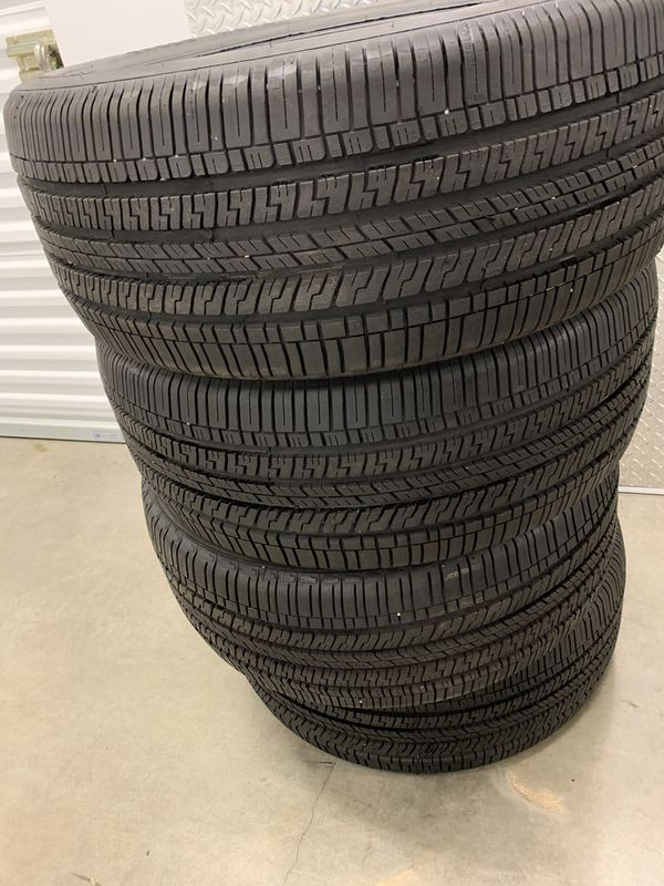 255 45 20 Goodyear Eagle RS-A set of 4 tires
